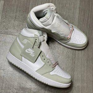 "Nike Air Jordan 1High OG""seafoam""Matcha green Aqua"